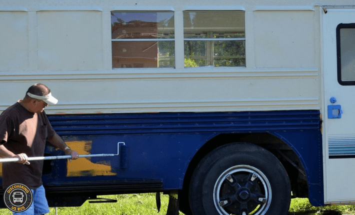 Do You Need To Paint A School Bus Conversion. Here are 3 Options